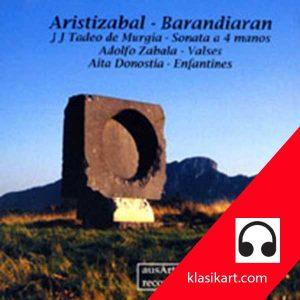 Música vasca para Piano cuatro manos - Aristizabal - Barandiaran