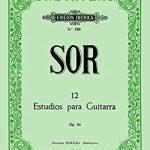 12 Estudios Guitarra Op.60