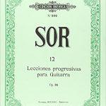 12 Lecciones Guitarra Op.31